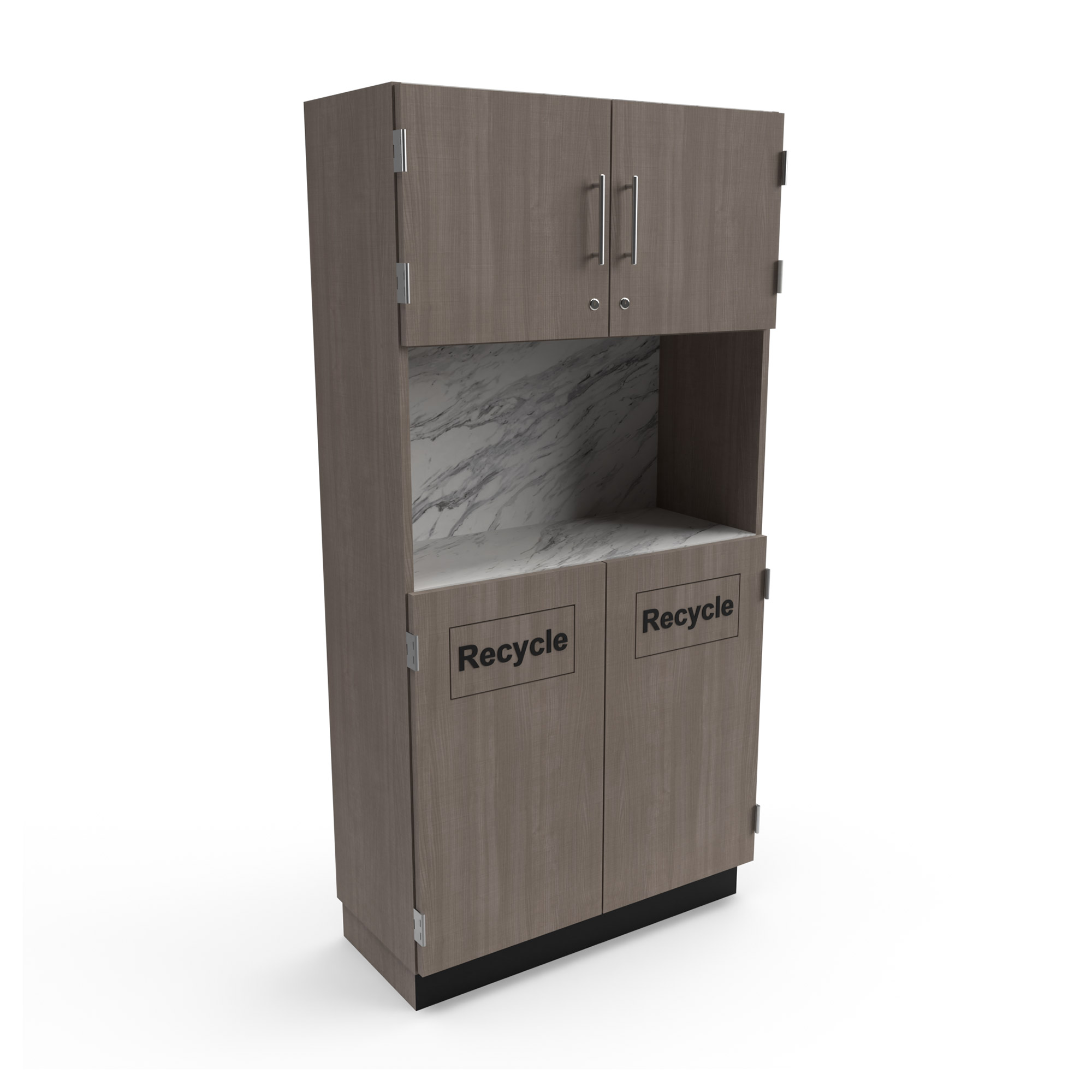 Collins 2672-36 Recycle Storage Cabinet