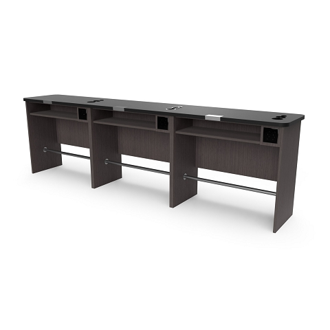 Collins 2459-36 Free-Standing Combo Desk