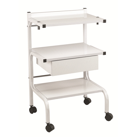 Garfield H2 White Facial Trolley