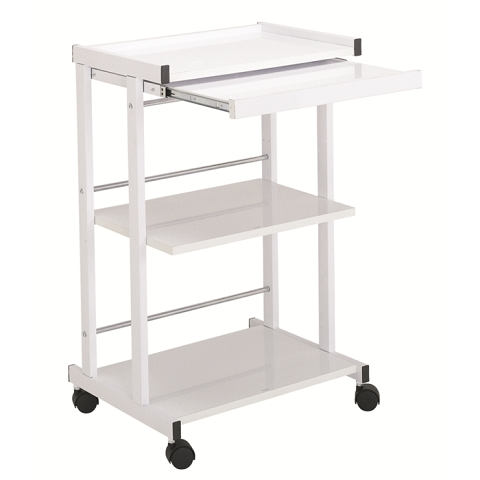 Garfield H8 White Metal Trolley