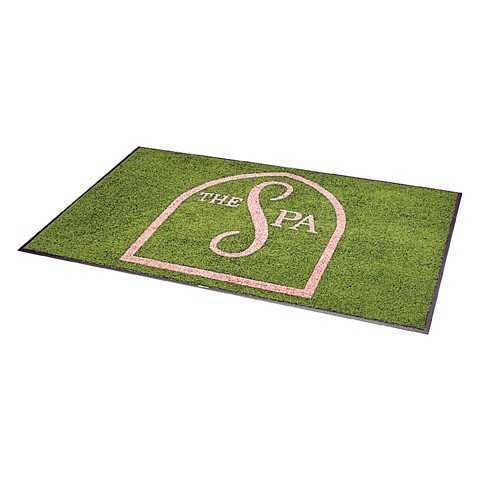 Rhino Graphic Logo Entrance Mat