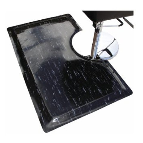 Rhino Marbleized Salon Chair Mat